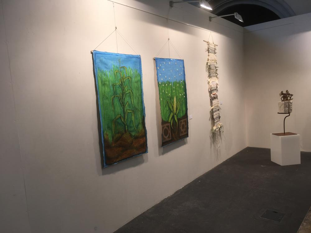 "Exhibition ""Maiz, Corn, the tribulations of a traveling seed"""
