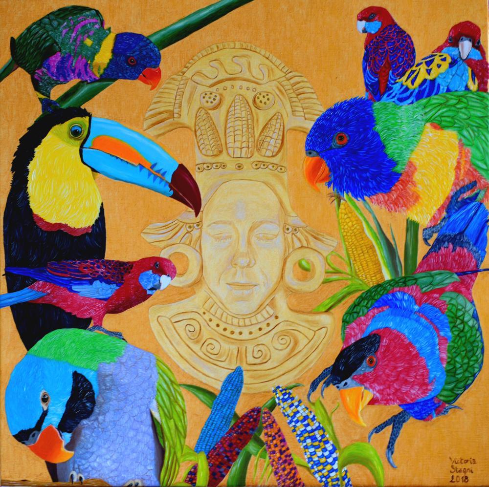 Peintre Contemporain Célèbre Vivant victoria stagni - artiste peintre contemporain à bordeaux