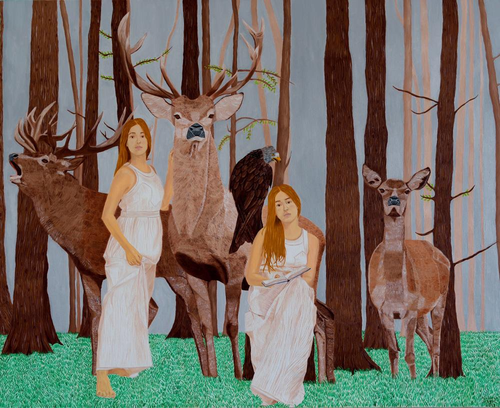 The damsels of the forest